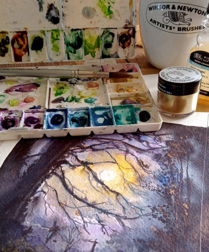 painting class Leicestershire