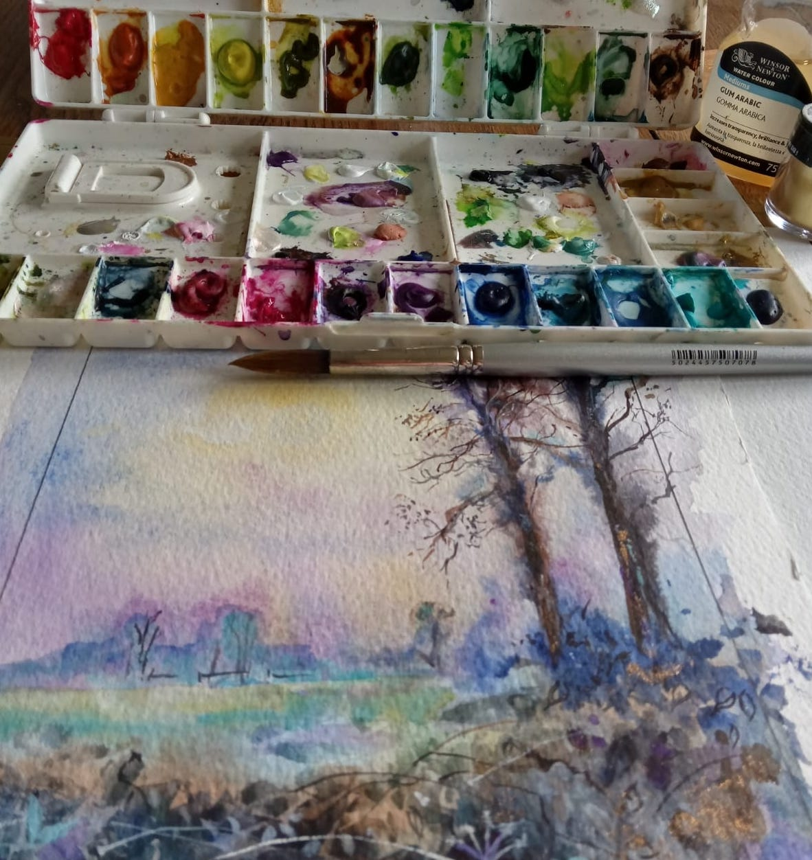 painting classes Leicester