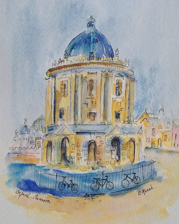 Radcliffe Camera Oxford Painting